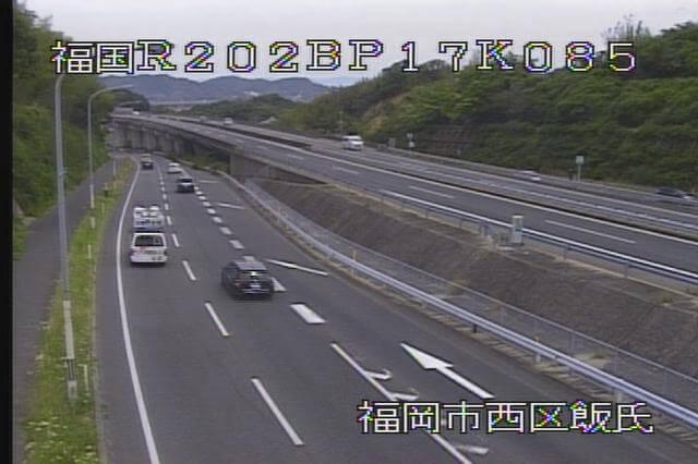 国道202号 徳永のライブカメラ|福岡県福岡市