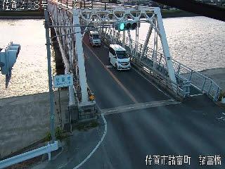 国道208号 諸富橋のライブカメラ|佐賀県佐賀市