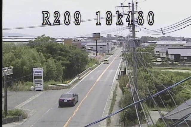 国道209号 永代橋のライブカメラ|福岡県久留米市