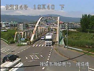 国道34号 神埼橋のライブカメラ|佐賀県神埼市