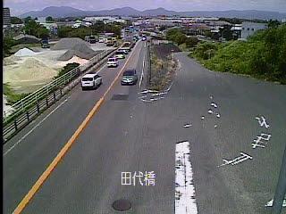 国道34号 田代橋のライブカメラ|佐賀県鳥栖市
