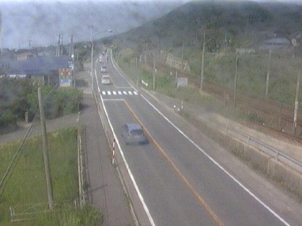 国道7号 岩城勝手のライブカメラ|秋田県由利本荘市