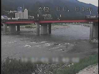 飛騨川 下呂大橋のライブカメラ|岐阜県下呂市