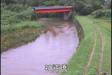 花渡川 神浦橋のライブカメラ|鹿児島県枕崎市