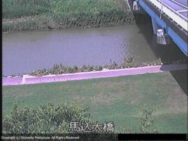 馬込川 馬込大橋のライブカメラ|静岡県浜松市