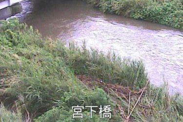 永田川 宮下橋のライブカメラ|鹿児島県鹿児島市