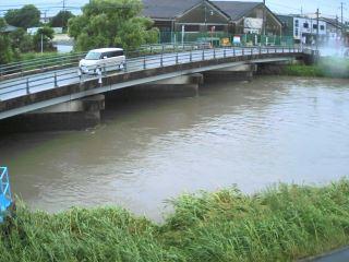 山ノ井川 城島大橋のライブカメラ|福岡県久留米市