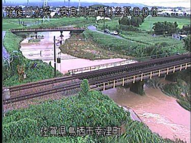 安良川 喜平橋のライブカメラ|佐賀県鳥栖市