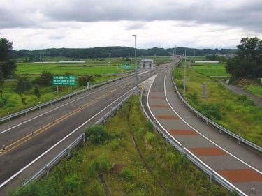 あぶくま高原自動車道 玉川インターチェンジのライブカメラ|福島県玉川村