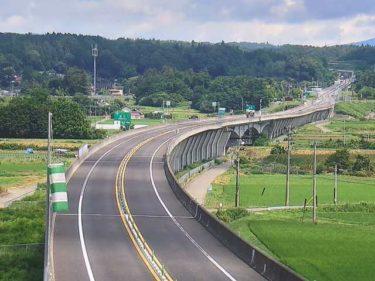 あぶくま高原自動車道 うつくしま大橋のライブカメラ|福島県矢吹町