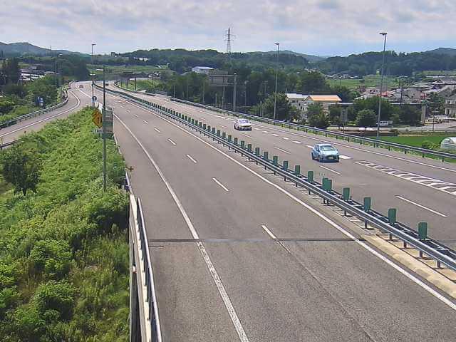 あぶくま高原自動車道 矢吹中央インターチェンジのライブカメラ|福島県矢吹町