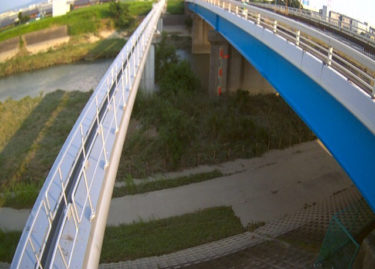 安威川 宮鳥橋のライブカメラ 大阪府茨木市