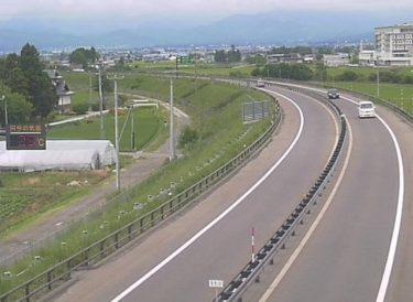 会津縦貫北道路 高野町1のライブカメラ 福島県会津若松市