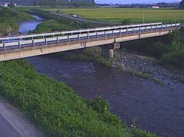 知内川 上開田橋のライブカメラ 滋賀県高島市