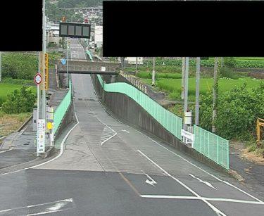 愛媛県道13号 壬生川新居浜野田線JRアンダー北側のライブカメラ 愛媛県四国中央市