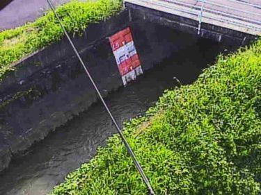 蛇砂川 蒲生野橋のライブカメラ|滋賀県近江八幡市