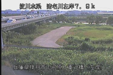 猪名川 軍行橋左岸のライブカメラ|兵庫県伊丹市