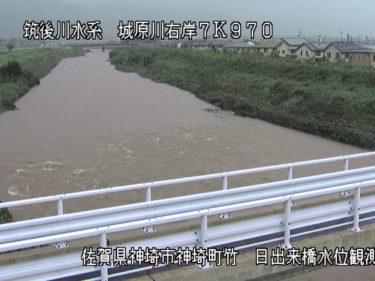 城原川 日出来橋のライブカメラ 佐賀県神埼市