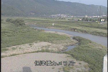 桂川 保津橋のライブカメラ 京都府亀岡市