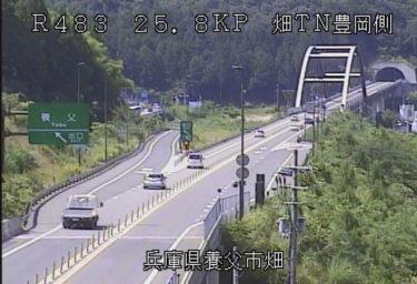 北近畿豊岡自動車道 畑トンネル豊岡側のライブカメラ|兵庫県養父市