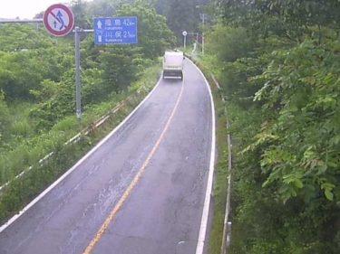 国道114号 津島1のライブカメラ 福島県浪江町