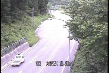 国道13号 刈安2のライブカメラ|山形県米沢市