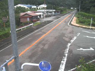 国道191号 宇津川1のライブカメラ|島根県益田市
