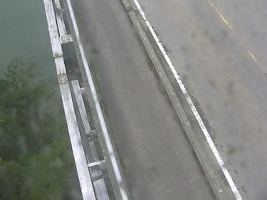 国道252号 高清水大橋1のライブカメラ 福島県三島町