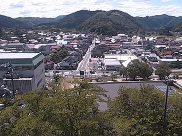 国道375号 粕渕市街地のライブカメラ|島根県美郷町