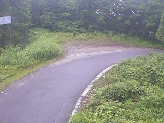 国道401号 博士峠昭和村側のライブカメラ 福島県会津美里町