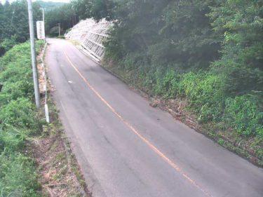 国道459号 萩坂A1のライブカメラ 福島県二本松市