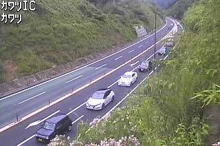 国道485号 川津インターチェンジのライブカメラ|島根県松江市