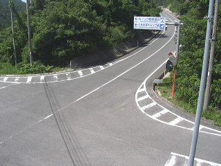 国道485号 上西のライブカメラ 島根県隠岐の島町