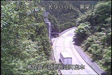 国道53号 黒尾1のライブカメラ|鳥取県智頭町