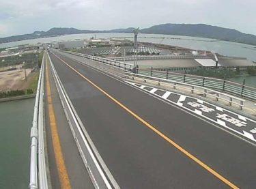 島根県道246号 江島大橋のライブカメラ|島根県松江市