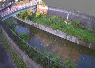 天竺川 のぞみ橋のライブカメラ|大阪府豊中市