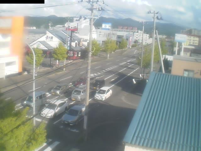 明の星高校通り 明けの星通りのライブカメラ|青森県青森市
