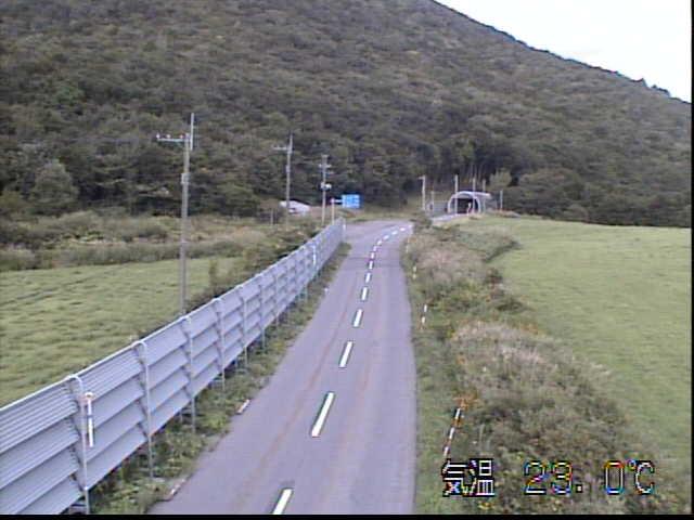 国道104号 白萩平のライブカメラ|青森県田子町