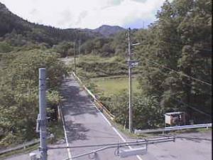 国道105号 上戸沢 付近のライブカメラ|秋田県仙北市