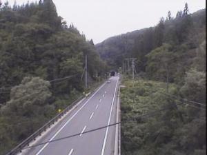 国道107号 山内黒沢 付近のライブカメラ|秋田県横手市