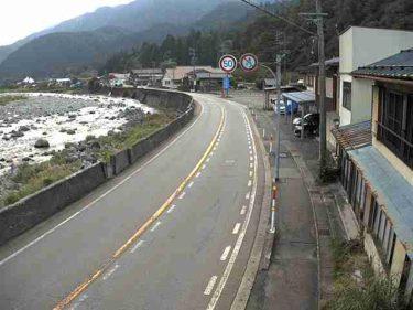 国道156号 歩岐島 北のライブカメラ|岐阜県郡上市