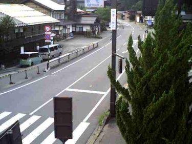 国道156号 萩町 北のライブカメラ|岐阜県白川村
