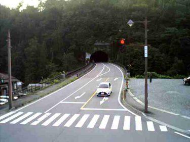 国道156号 萩町 南のライブカメラ|岐阜県白川村