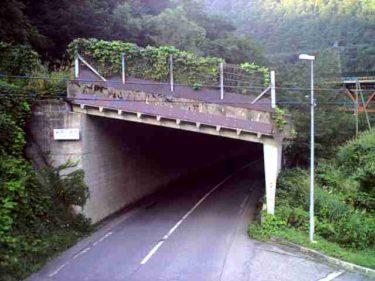 国道156号 椿原 北のライブカメラ|岐阜県白川村