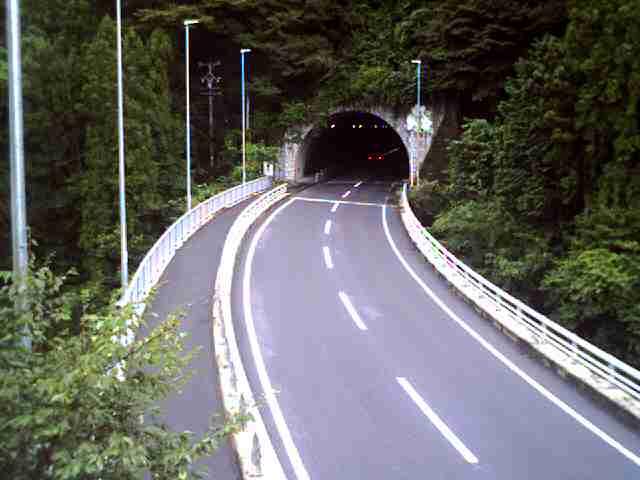 国道257号 城山トンネル 南のライブカメラ 岐阜県恵那市