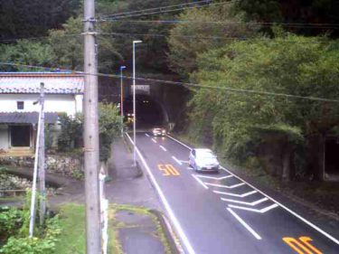 国道257号 野口トンネル 南のライブカメラ|岐阜県恵那市