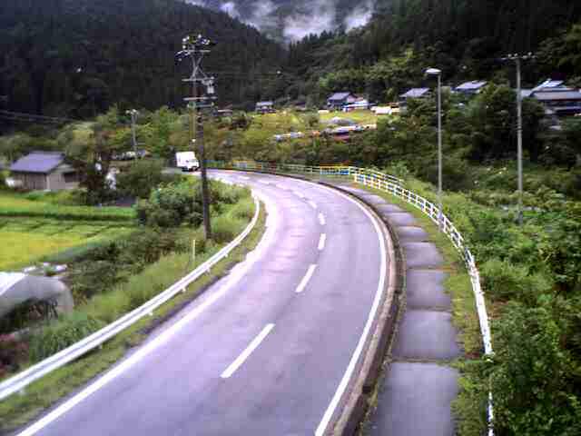 国道257号 城山トンネル 北のライブカメラ 岐阜県恵那市