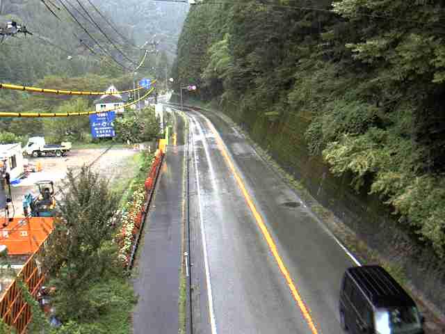 国道257号 竹原トンネル  南のライブカメラ|岐阜県下呂市