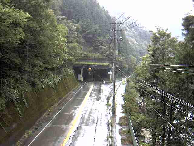 国道257号 ささゆりトンネル 北のライブカメラ 岐阜県下呂市