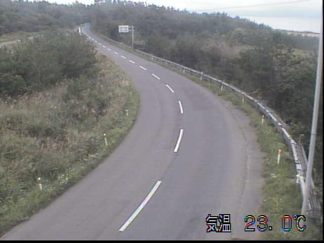 国道279号 向田のライブカメラ 青森県野辺地町